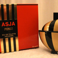 Vintage Asja by Fendi EDT 75ml-2.55fl.oz. DISCONTINUED & RARE!