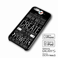 Twenty One Pilots Lyric Design iPhone case 4/4s, 5S, 5C, 6, 6 +, Samsung Galaxy case S3, S4, S5, Galaxy Note Case 2,3,4, iPod Touch case 4th, 5th, HTC One Case M7/M8