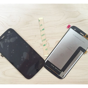 Black Screen For Explay X-tremer LCD display + touch screen Full Complete Set + 3M Sticker ; Free tracking