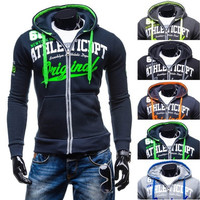 New men's fashion leisure fashion hooded [8833554828]