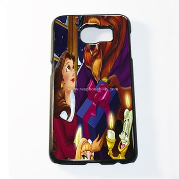 Disney Beauty And The Beast Princess Belle Samsung Galaxy S6 and S6 Edge Case