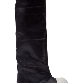 Rick Owens knee high sneaker boots