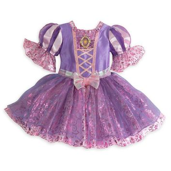 Original Disney Store Rapunzel Costume Dress for Baby Girl Size:3-6M