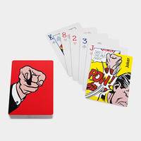 Roy Lichtenstein: Finger Pointing Playing Cards | MoMA