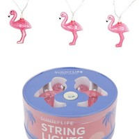 Pink Flamingo String Lights by Sunnylife Australia
