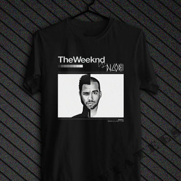 The Weeknd Official Issue Shirt OVOXO Logo Black Unisex t-Shirt Tee S,M,L,XL,XXL #2