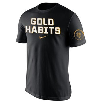 Nike USA Basketball Black Gold Habits T-Shirt