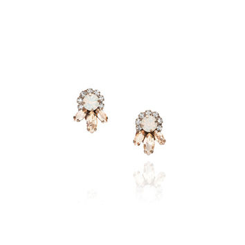 Jolie Crystal Stud Earrings
