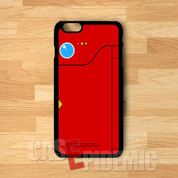 pokedex red-1n1 for iPhone 6S case, iPhone 5s case, iPhone 6 case, iPhone 4S, Samsung S6 Edge