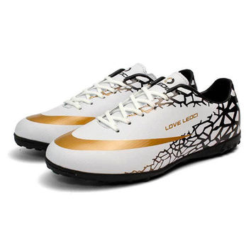 LEOCI Soccer Cleats Turf Football Soccer Shoes TF Hard Court Sneakers Trainers New Design football boots