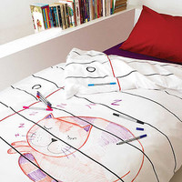doodle duvet cover by doodle by stitch | notonthehighstreet.com