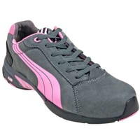 Puma Shoes: Women's 64.286.5 Steel Toe SD Nubuck Leather Athletic Shoes