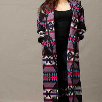 Womens Pendleton ® Wool Long Coats, Lilac Reversible Long Coat