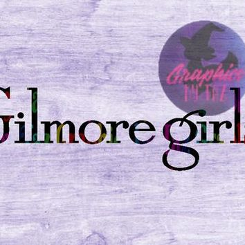 Gilmore Girls Inspired Gilmore Girls logo, SVG cut file for Cricut and silhouette cutting machines