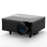 Mini Projector - 60 Lumens, 300:1 Aspect Ratio, 1.67 Million Displayable Colors, 5 Input Terminals: AV / VGA / USB / SD / HDMI