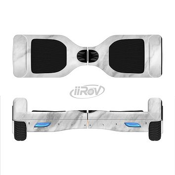 The White Marble Surface Full-Body Skin Set for the Smart Drifting SuperCharged iiRov HoverBoard