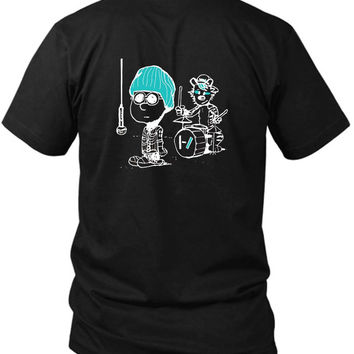 My Current Fave Band Reminds Me Of Another Classic 2 Sided Black Mens T Shirt