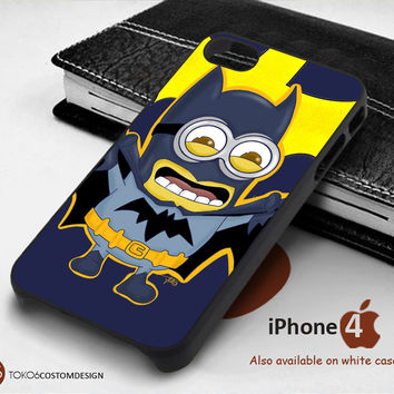 Batman Minion for iPhone 4/4S, iPhone 5/5S, iPhone 6, iPod 4, iPod 5, Samsung Galaxy Note 3, Galaxy Note 4, Galaxy S3, Galaxy S4, Galaxy S5, Galaxy S6, Phone Case