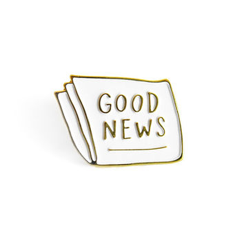 Good News Lapel Pin