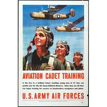War Propaganda Art poster Metal Sign Wall Art 8in x 12in