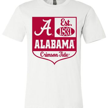 Official NCAA Venley University of Alabama Crimson Tide UA ROLL TIDE! Est 1831 Unisex T-Shirt - 41AL-1
