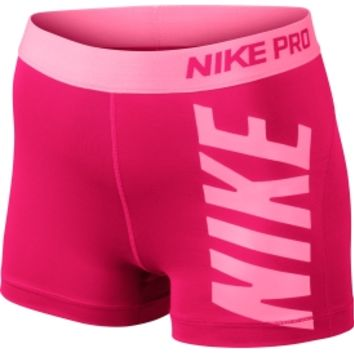 Nike Women's Pro Logo Graphic Core Compression Shorts - Dick's Sporting Goods
