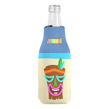 Kids Hawaiian Luau Party Guest Favor Bottle Cooler
