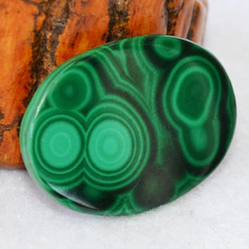Malachite cabochon, oval cabochon, green gemstone, loose gemstones, jewelry supplies, healing stones, metaphysical, malachite, chakra stones