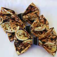 Cute Cookie Clip-On Bow
