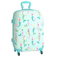 Mackenzie Aqua Mermaids Hard Sided Luggage