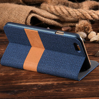 Original Floveme Brand Flip PU Leather Wallet Cover For Iphone 6 6s Plus Case