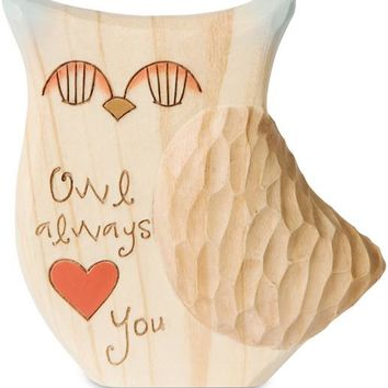 Owl always love you Figurine/Carving