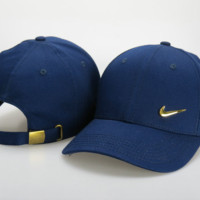 Navy Blue Nike Baseball Cap Hat
