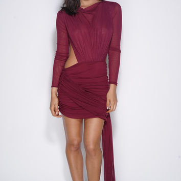 All About You Dress - Wine