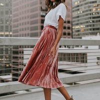 Puns N' Roses Skirt - cladandcloth