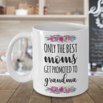 Best Grandma Mug Coffee Mug Happy Mothers Day Cup Baby Shower Gift Novelty Gift