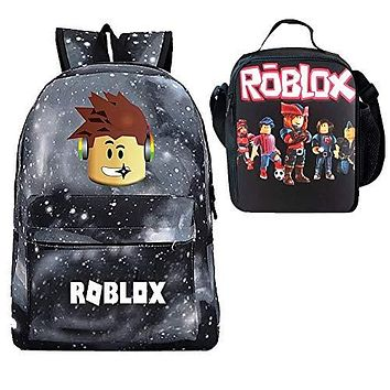 Roblox Backpack + Insulated Lunch Box