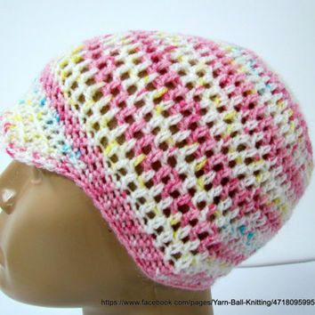 Crocheted children newsboy cap,Children's Newsboy Hat, Newsboy Cap Children' Hat, Knit Newsboy Hat, Knit Hat Children