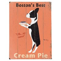 "One Kings Lane - Be the Best Guest - 9""x12"" Boston's Best Cream Pie"