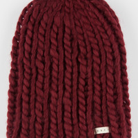 Neff Cara Beanie Burgundy One Size For Women 26524632001