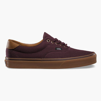 Vans C&L Era 59 Mens Shoes Winetasting/Gum  In Sizes