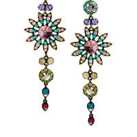 Love Rocks Flower Chandelier Earring at asos.com