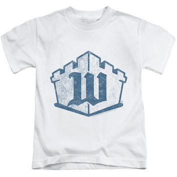 White Castle Monogram White Kids T-Shirt