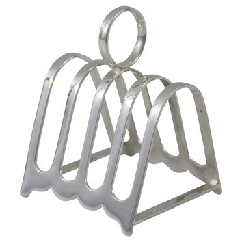 Hotel Silver Toast Rack, 5 Bar, Toast Racks
