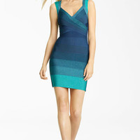Herve Leger Ombré Bandage Dress | Nordstrom