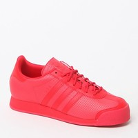 Adidas Red Samoa Sneakers - Womens Shoes - Red