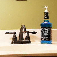 Jack Daniels Lotion/Soap Dispenser by DumpsterPiratesRRR on Etsy