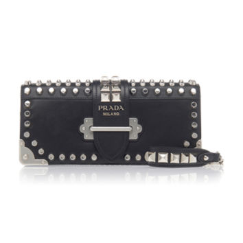 Studded Leather Clutch | Moda Operandi