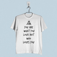 Men T-Shirt - Fall Out Boy Quote