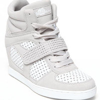 Brayden Perforated Wedge Sneaker